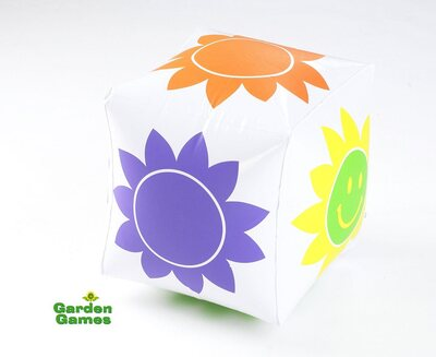 Spare Giant Inflatable Die with flower patterns for Get Knotted