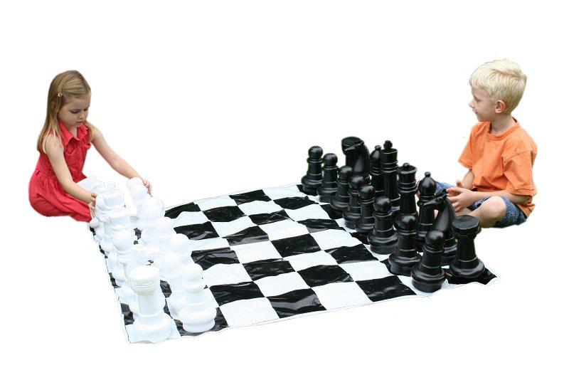 Garden Chess Set Mini Giant