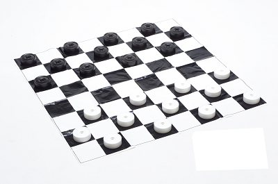 Mini-Giant Draughts set (Garden Games with board)