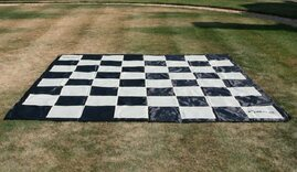 Giant Nylon Chessboard Mat