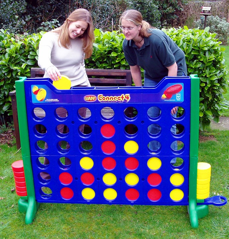 Giant connect 4 and spares for giant connect 4 for Garden design game