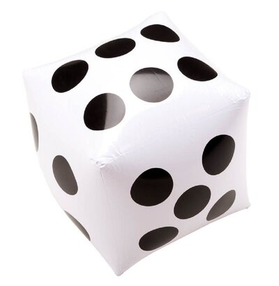 Garden Games Giant Inflatable Dice - 35cm x 35cm