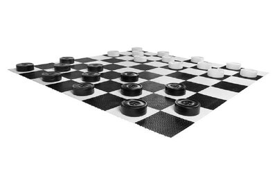 Uber Games Giant Draughts (24 pieces without board)