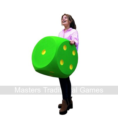 Giant Foam Dice - 50cm - GREEN