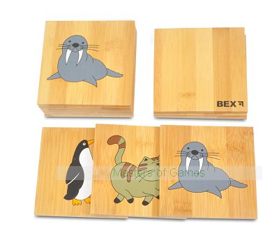 Giant Wooden Memory Pairs Game (Animal Pelmanism)