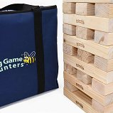 Garden Games Hi Tower (pine, large footprint, with bag)