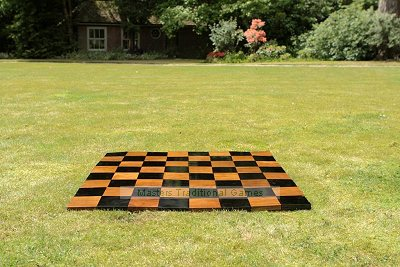 Large Chess Board  - 10cm teak