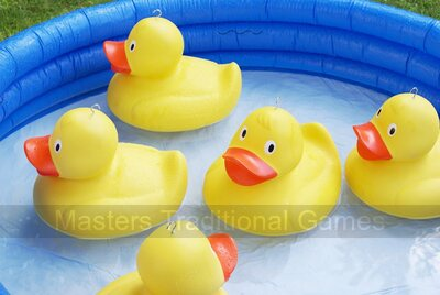 Masters Giant Hook a Duck - giant ducks, play pool & 2 rods