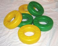 Pack of 6 spare disks for Mega 4 in a Line (3 green, 3 yellow)