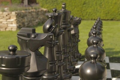 Mega Uber Giant Chess set (3 feet high without board)