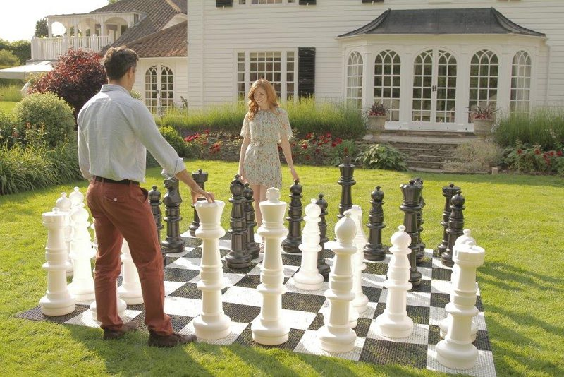 Mega Premium Giant Chess Set 90cm King Without Board