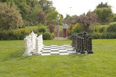Mega Uber Giant Chess Set (90cm King, without board)