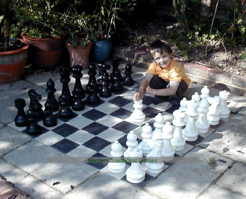 Rolly Mini Giant Chess Pieces (without Board)