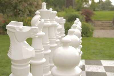 Ultimate Premium Giant Chess set (4 feet high without board)