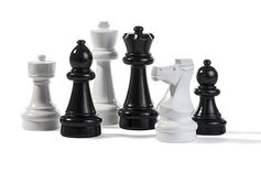 Rolly Garden Chess Set / Mini-Giant - 30cm King