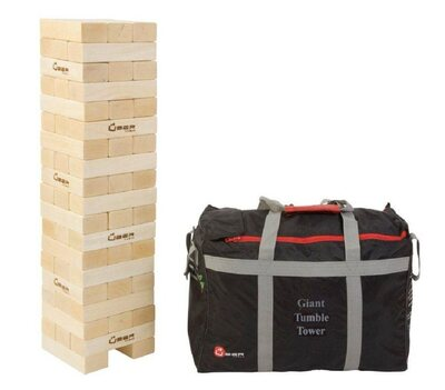 Uber Giant Tumble Tower (hardwood, with bag)