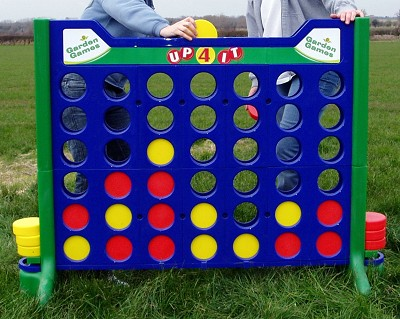 Giant Connect 4 (including 42 disks)