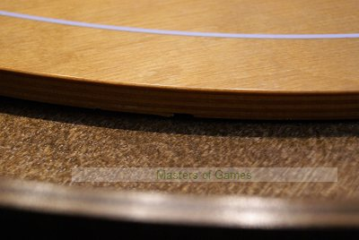 Masters Crokinole Tournament Board - Steamed Beech & Walnut