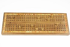 Four track Cribbage board set