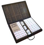 Large Mahjong Set in Case with XL Tiles