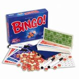 Bingo! with cloth bag & wooden number disks
