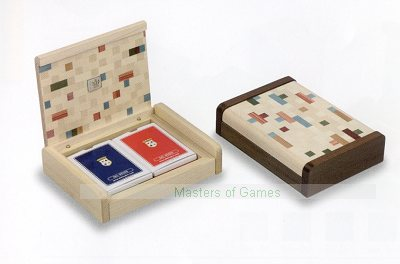 Dal Negro Multicolour Beige Playing Card Box