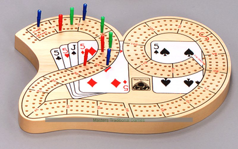 Three track cribbage board 29 cribbage board with 3 tracks maxwellsz