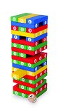Number Tower - Tumble Tower Game