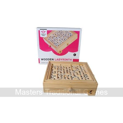 Longfield Games Wooden Labyrinth - 32cm