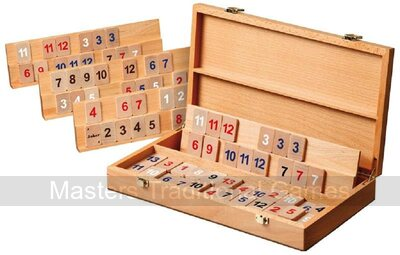 Philos Wooden Rummy Game