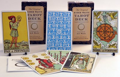 Deck of Rider Waite Tarot Cards