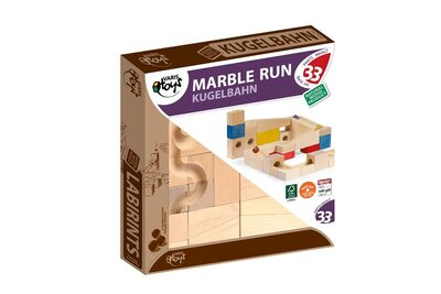 Varis Marble Run - Basic Set, 33 Parts