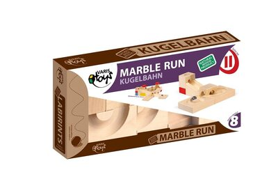 VARIS Marble Run Extra Set II - 8 Parts