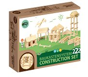 Varis Wooden Construction Set - 222 Parts