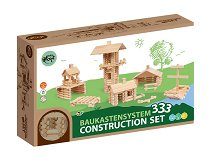 Varis Wooden Construction Set - 333 Parts