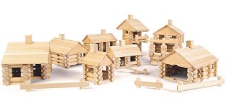 Varis Wooden Construction Set - 500 Parts