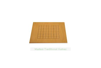 Play Go Today Set - dual sided board with glass stones