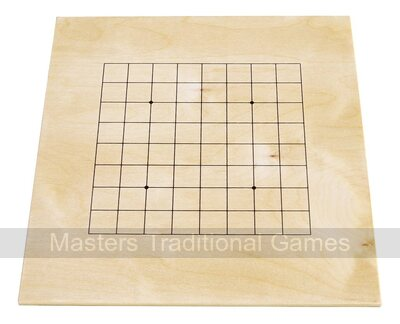 Go Masters - Entry-Level Go Set - Wood Board (13x13 & 9x9)