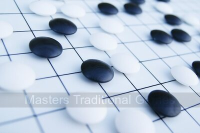 Go Masters - Simple Go Set - Plastic Board (19x19 & 13x13)