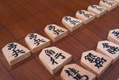 Philos Shogi Set With Raised Wooden Board & Storage Drawer