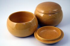Shin Kaya Go Bowls - pair, tall design