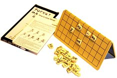 Pocket Magnetic Shogi Set with metal board