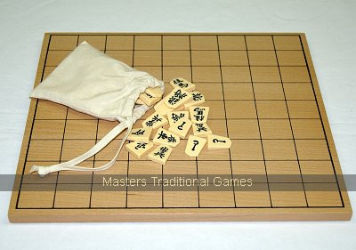 Shogi Set - Board & Pieces