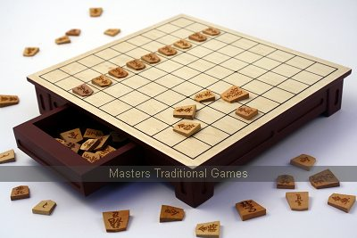 Shogi Set with Table Board
