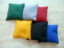 Set of 8 colour Cornbags