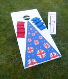 Cornhole - Full Euro Extra Set (2 boards, 1 bag, scoreboard)