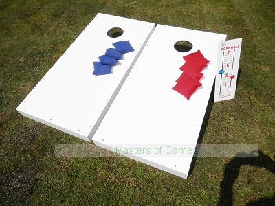 Cornhole - Full Euro Set - Solid Colour