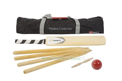 Uber Wooden Cricket Set - Size 5