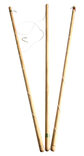 3 Large Wooden Rods with String Hooks for Hook-a-Duck