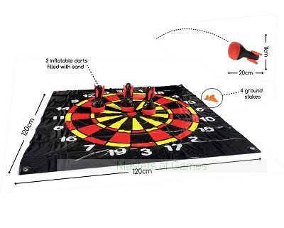Inflatable Lawn Darts (Soft)